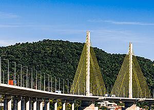 Ponte Anita Garibaldi, em Laguna, é construída com adesivo estrutural da HARD